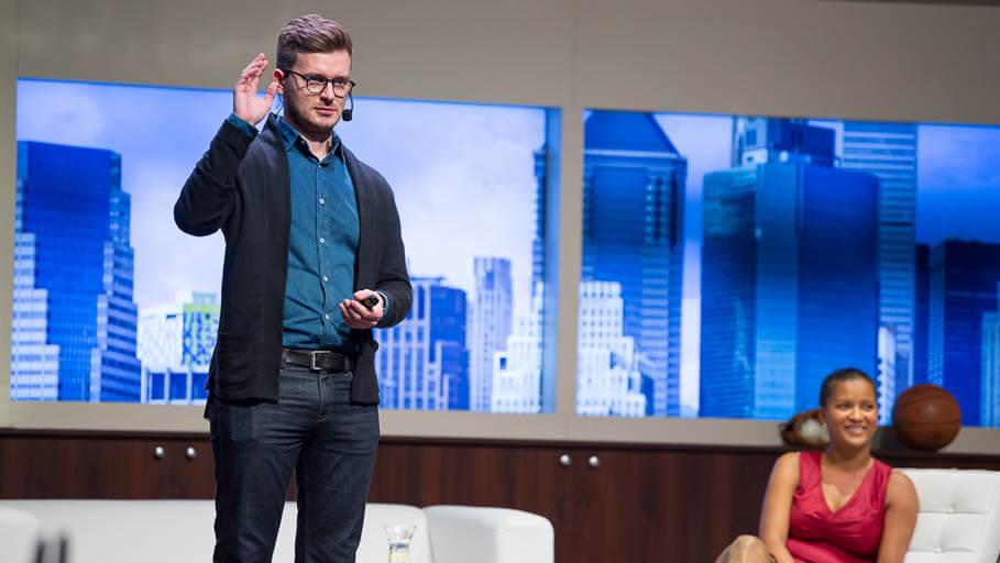 Ze života startupisty přednáška konference glorious